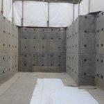 House-KH-06 地下防水工事と配筋墨出し